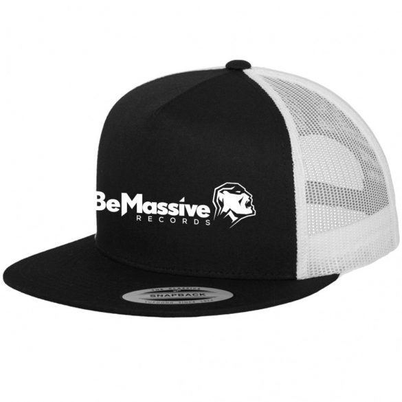 RavEra x Be Massive Records 2-Tone Trucker Snapback Sapka
